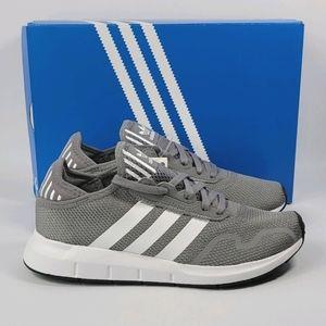Adidas Women's Swift Run X Grey White Shoes Size 8